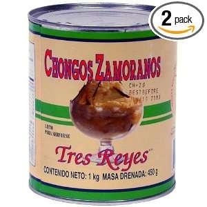 TRES REYES Chongos, 1000 Gram Cans (Pack: Grocery & Gourmet Food