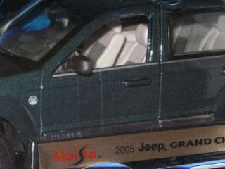 Maisto 2005 JEEP GRAND CHEROKEE 1:18 car MIB