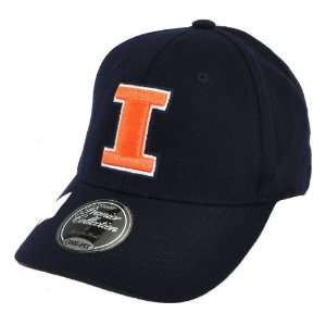 Illinois Fighting Illini NCAA Premier Collection One Fit Cap Hat Small