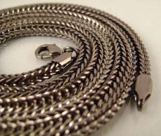 MENS BLACK GOLD EP FRANCO SNAKE CHAIN NECKLACE AVAILABLE IN 24,30