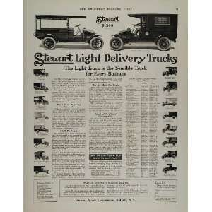 Delivery Truck Ambulance Mail   Original Print Ad Home & Kitchen