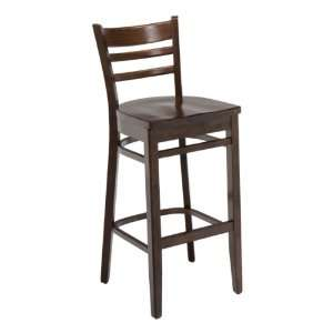 4500 Series Cafe Stool Wood Seat