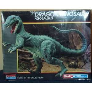 Dragon Dinosaur Allosaurus Snap Tite Model Kit Toys