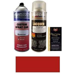 12.5 Oz. Volcano Red Pearl Spray Can Paint Kit for 2012 Audi TTS (LY3M