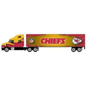 80 Tractor Trailer Diecast   Kansas City Chiefs