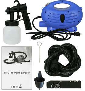 AS SEEN ON TV PAINT ZOOM SPRAYER SYSTEM ELECTRIC GUN PAINTING SYSTEM