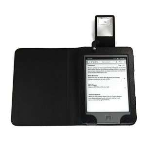 Cosmos ® KINDLE TOUCH LED light PU Leather case/cover for
