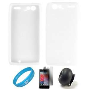Clear Smooth Rubber Soft Silicone Protective Skin Back Cover Case For