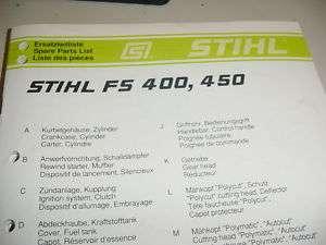 Stihl BG 85 Parts List on PopScreen