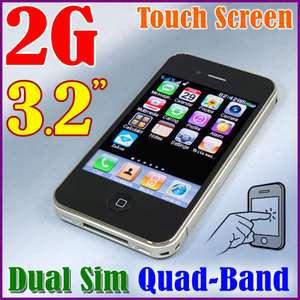 2GB UNLOCKED KA08 Touch Screen PDA CELL PHONE A555 N8+