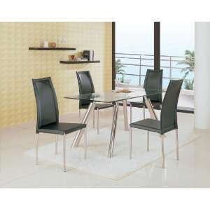 Global Furniture 8065 Series Contemporary 5 Piece Dining