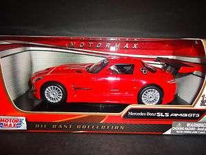 Motormax Mercedes Benz SLS AMG GT3 Red 1/24