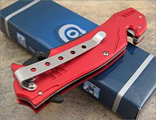 Colt Firefighter Fire Department Red Rescue Knife NEW
