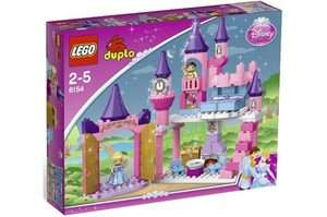 LEGO DUPLO 6154 DISNEY PRINCESS CINDERELLAS CASTLE BUILDING BLOCK TOY