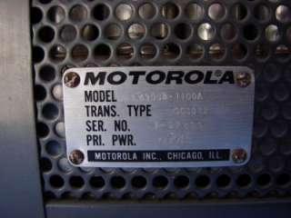 MOTOROLA VINTAGE TWINV BASE STATION VHF RADIO Transcievers Receiver
