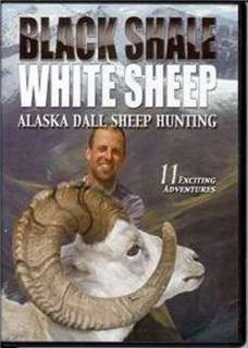 Black Shale White Sheep ~ Alska Dall Sheep Hunting DVD