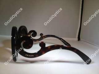 PRADA PR 27NS SUNGLASSES Baroque 2AU6S1 Brown SPR 27N