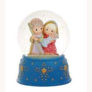 Precious Moments Nativity Musical Waterball #911005 NIB |