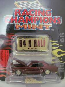 RACING CHAMPIONS MINT 1964 1/2 FORD MUSTANG HOT RODS