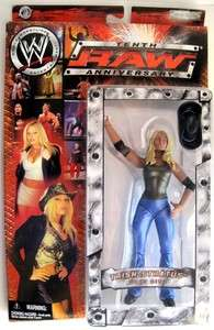 WWE Raw 2003 Wrestling Action Figure Doll TRISH STRATUS Best Diva