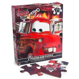Disney Pixar Cars Puzzle   46 Pieces   3 Floor Puzzle