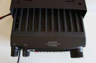 Yaesu FT 2900 R 2 meter ham radio 75 Watts   Works and Looks Perfect