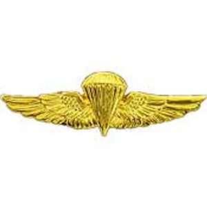 U.S. Navy & Marine Corps Basic Parachutist Pin 1 3/8