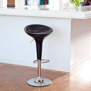 Winsome Wood Adjustable Single Air Lift Swivel Bar Stool