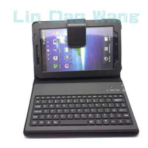 Leather Case And Keyboard For Samsung Galaxy Tab P1000