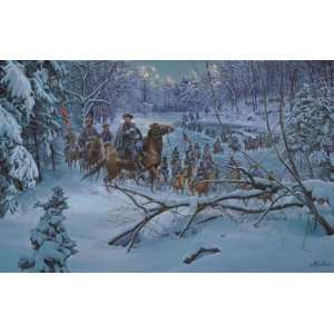 Crossing   Mort Kunstler   Civil War Military Art Home & Kitchen