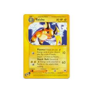 Pokemon E Expedition Rare Raichu 61/165: Toys & Games