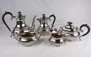Birks Sterling Silver 5 Piece Coffee and Tea Serving Set