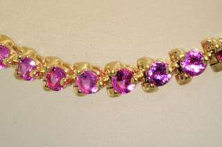 3,000 4.56CT ROUND CUT MULTI COLORED GEMSTONE TENNIS BRACELET