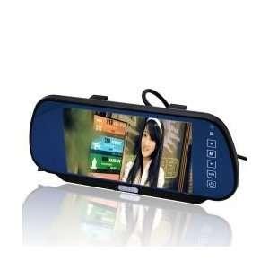 Remote Control 7 inch TFT LCD Rear View Mirror Monitor: Car