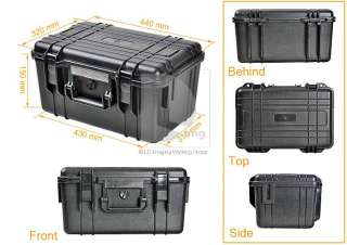 Waterproof Digital Camera Lens Hard Case Briefcase Suitcase