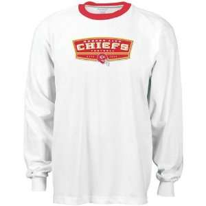 City Chiefs White Block Party Long Sleeve T shirt