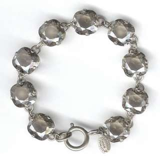 SHADE/SILVER Catherine Popesco CRYSTAL Bracelet FRENCH