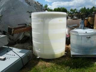 POLYDescription 600 gallon Poly storage tank. Open top, cone bottom