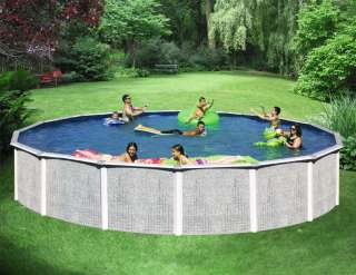 SWIMMING POOL PACKAGE 27 x 52 ABOVE GROUND ROUND