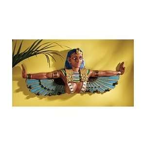 1920s style replica Halwan statue Egyptian Goddess Wall