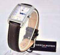 95 Tommy Hilfiger Mens Brown Leather Watch 1710092 NWT