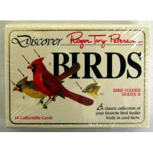 Roger Tory Peterson Bird Collectible Card Set   Bird Feeder   Series
