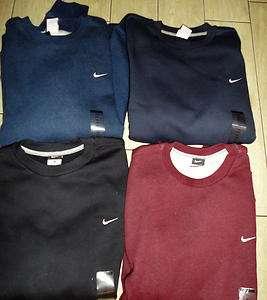 NWT NIKE Classic Fleece Crew Neck Pullover Sweatshirt