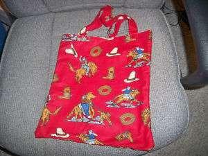 Hand Crafted Tote Bags Horses, John Deere LOOK