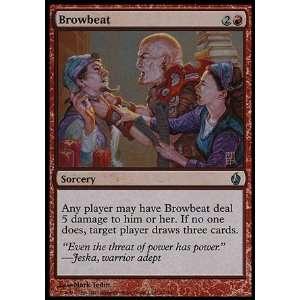 com Magic the Gathering Browbeat (Foil)   Premium Deck Series Fire