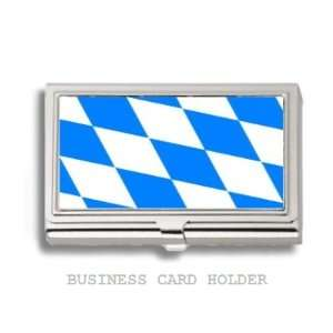 Bavaria Bavarian Flag Business Card Holder Case