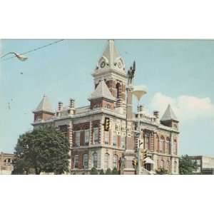 Gibson County Indiana Court House Post Card 70s