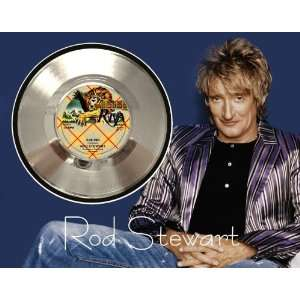 Rod Stewart Sailing Framed Silver Record A3: Electronics