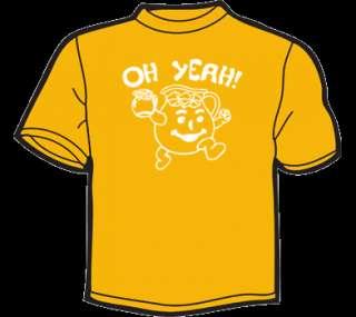 KOOL AID MAN OH YEAH T Shirt WOMENS funny vtg 80s cute
