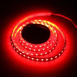 Red 1M 120 LED 3528 SMD Flexible Car DIY Strip Light Automotive